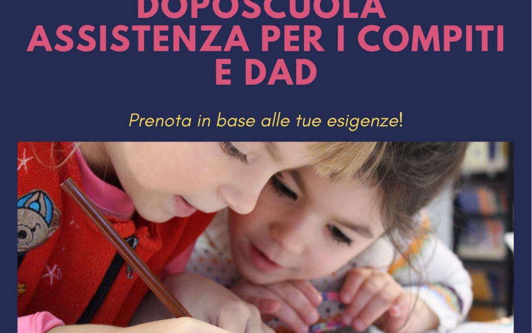 La Cooperativa Conlaboro organizza servizi di Doposcuola e supporto per la DAD