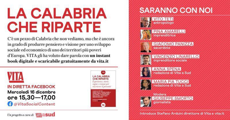 La Calabria che riparte, parliamone – Vita a sud