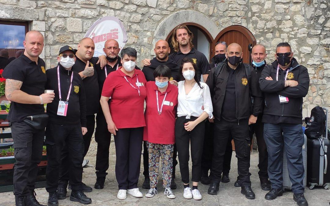 Il Giro d'Italia all'Albergo diffuso di Campolattaro